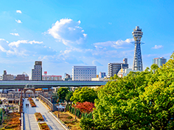 Shinsekai, Tennouji, Tsuruhashi:Overview & History