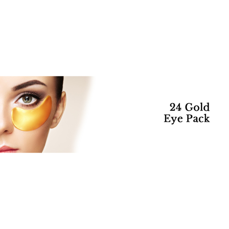 24 Gold Eye Pack50% OFF