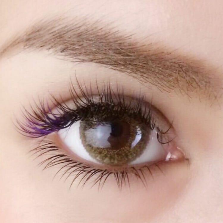 single eyelashextensions 120hair(popular menu☆)10,400JPY (excluding tax)→8,400JPY (excluding tax)