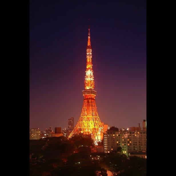 日没~24:00ランドマークライト