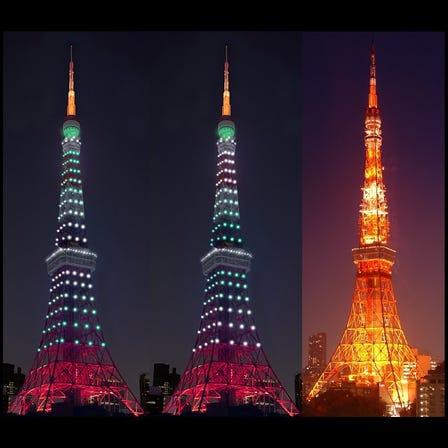 【Every Monday】sunset~22:00 Infinity Diamond Veil / 22:00~5:00 Landmark Light