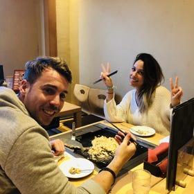 Let's make okonomiyaki