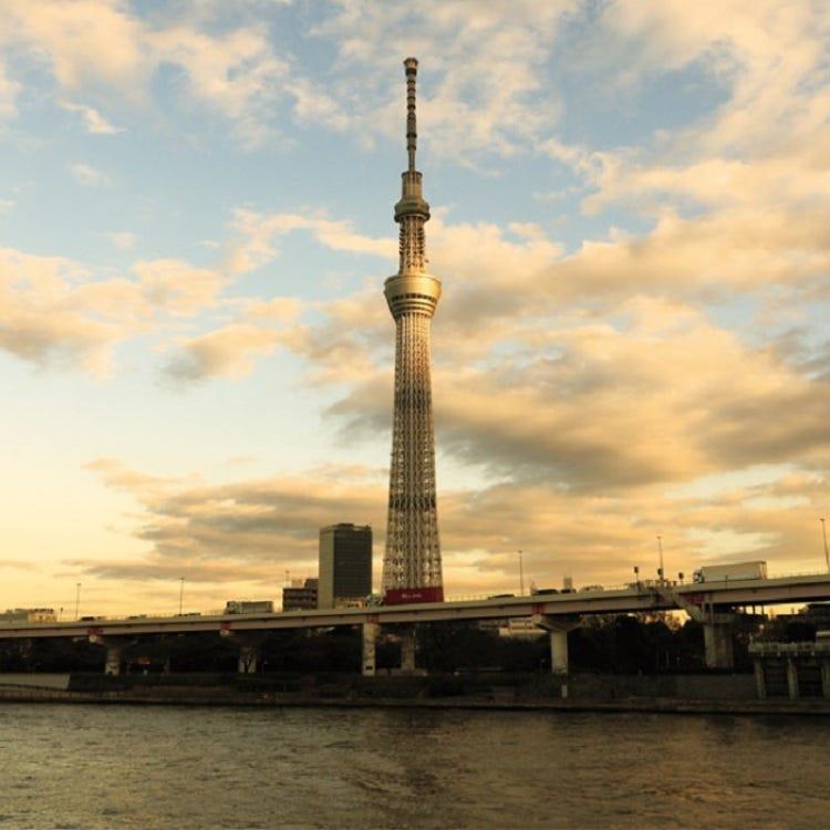 Tokyo Skytree & Tokyo Bay Cruise