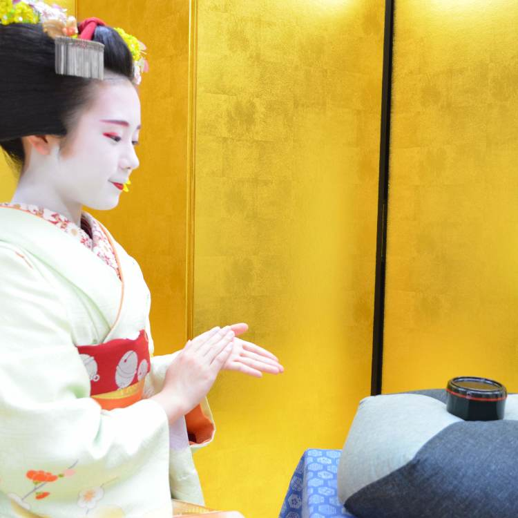 Ozashiki Game and Meet Maiko -Dance and Photo-