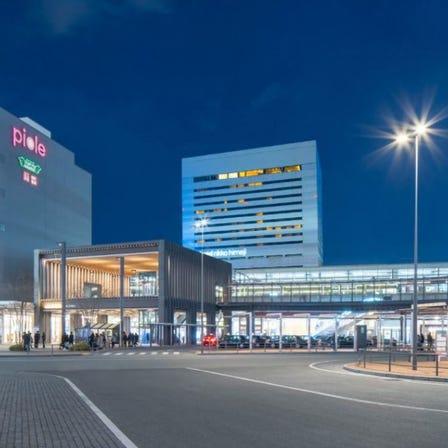 JR姫路駅から徒歩1分!ホテル日航姫路!姫路城を一望するビジネスと観光の拠点です!