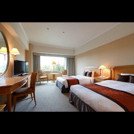 標準兩小床雙人房(1人入住時之費用) *亦可設定為2人以上之費用。費用詳情等請直接洽詢。