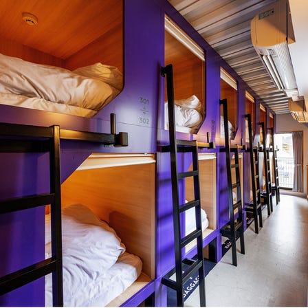 男女共用宿设房型