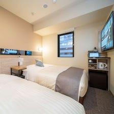트윈 룸(더블 침대 + 소파형 침대)