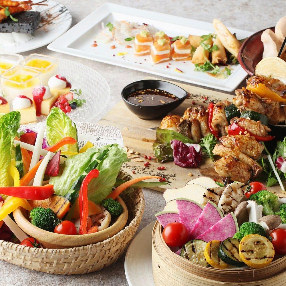 各種國家、地區料理