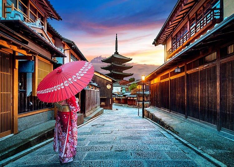 祇園、河原町、清水寺