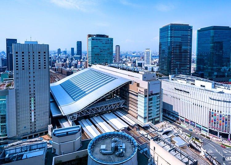 梅田、大阪站、北新地