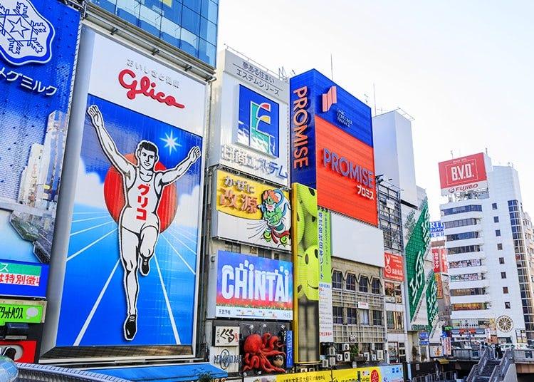 Namba, Dotonbori, Shinsaibashi