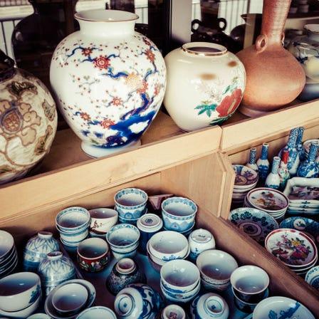 ร้านขายงานศิลปะโบราณและของโบราณ