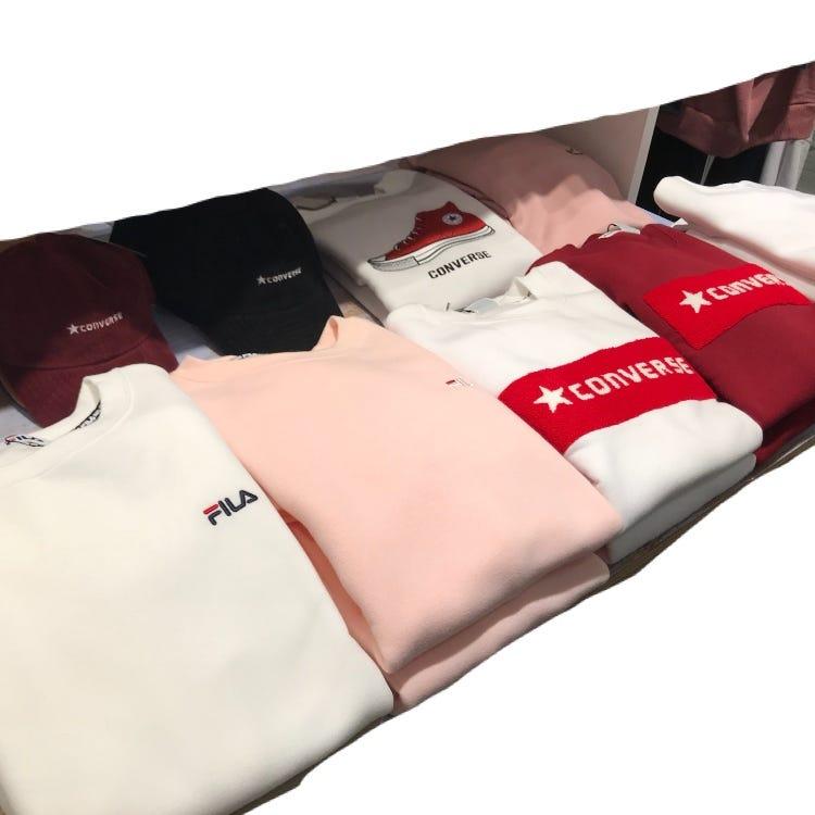 CONVERSE / FILA sweatshirt