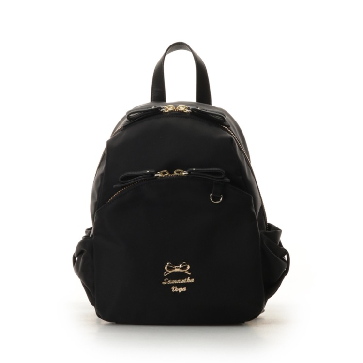 Re-arrival nylon side ribbon pocket with backpack