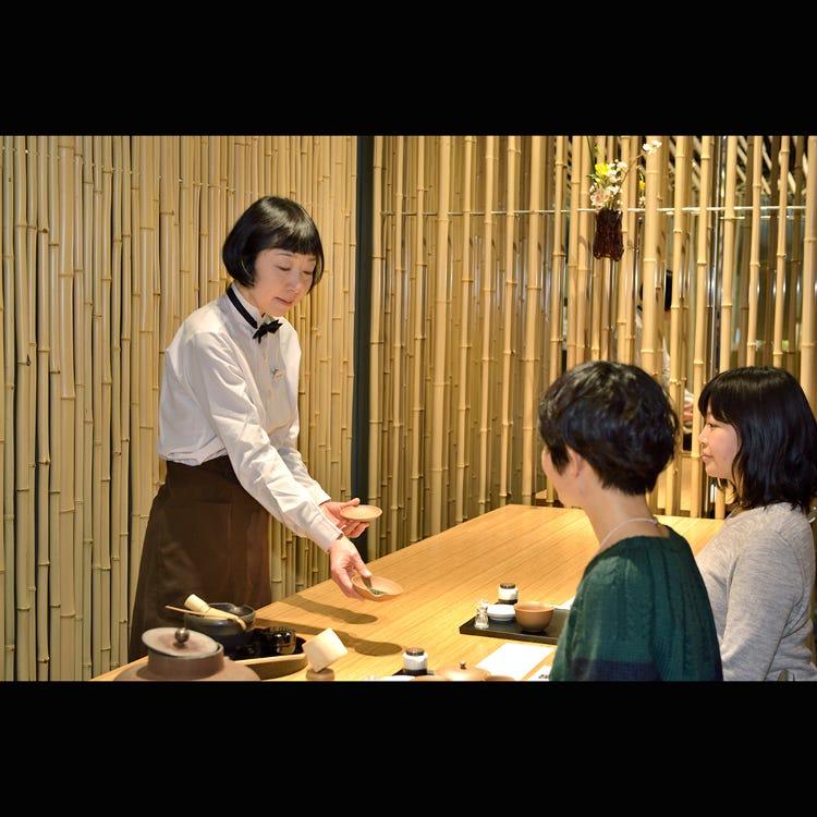 寿月堂の日本茶体感コース
