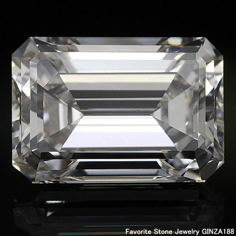 2.229 ct G VVS2 diamond, emerald cut, loose