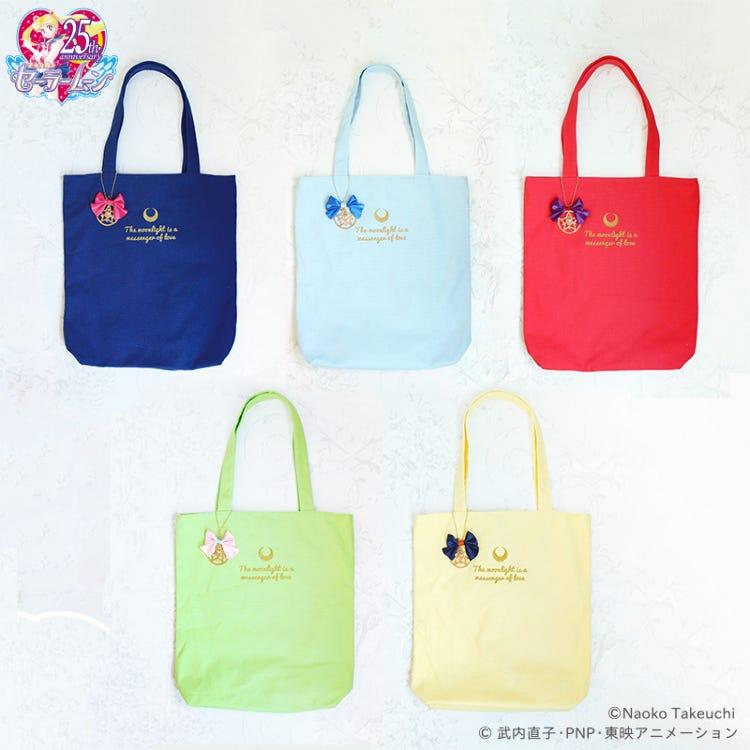 「Pretty Guardian Sailor Moon」Collaboration goods (Vol.2) Canvas Tote Bag