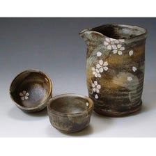 Sake Bottle and Cup Set