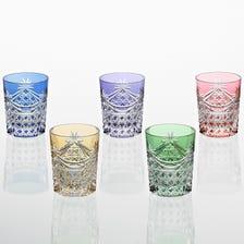 江户切子  威士忌杯套装 TS370-2835-5