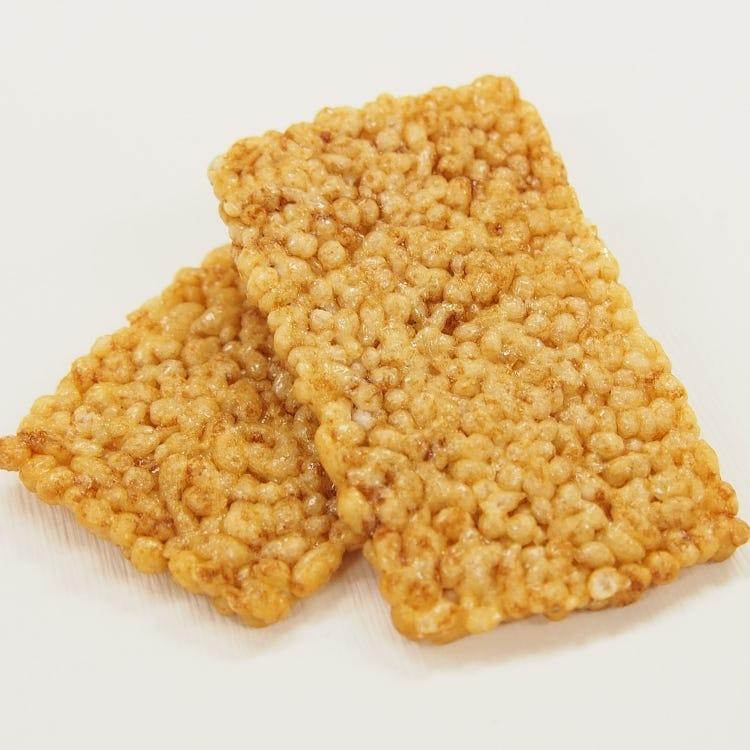 【慶長/9枚入り】お米の粒の姿をそのまま生かして焼き上げた一番人気の薄焼きおかき/9枚入り