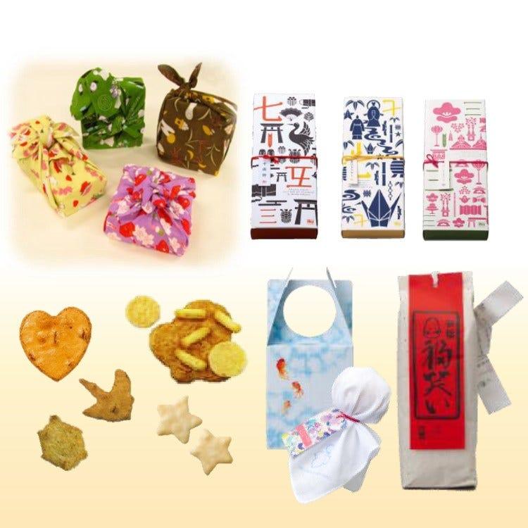 [계절 한정품] 계절별 행사와 관련된 선물. 보자기에 담아 드리는 세트 상품도 인기입니다.