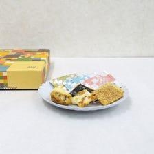 【A-LA-KASHIKO】里面每个一口大小的ARARE米果都是单独包装,以便与他人分享。