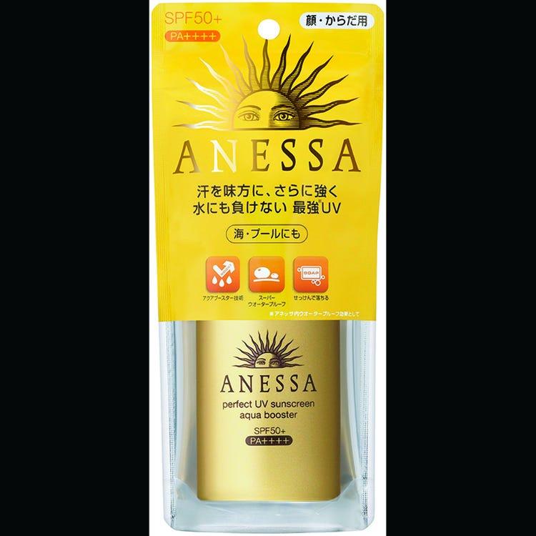 ANF安耐曬金鑽高效防曬露(ANESSA Perfect VU AB)