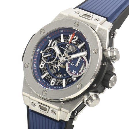 HUBLOT Big Bang Unico titanium blue 411.NX.5179.RX (Price may vary)