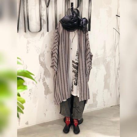 MOYURU<br /> <br /> 2021 Spring & Summer  Collection<br /> <br /> Jacket  ¥34000