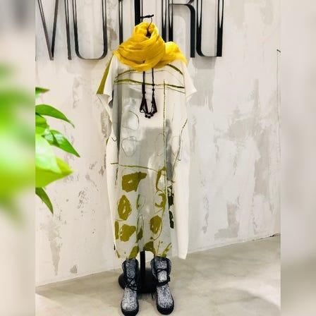 MOYURU<br /> <br /> 2021 Spring & Summer  Collection<br /> <br /> Dress ¥28000