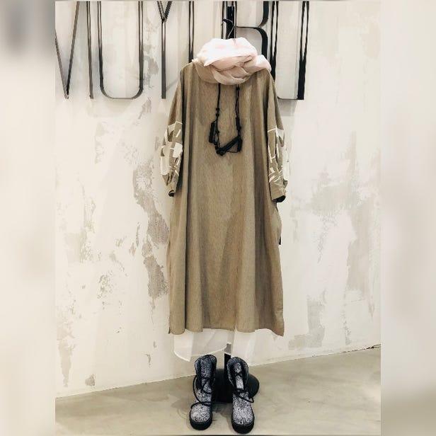 MOYURU  2021 Spring & Summer  Collection  Cotton Dress ¥24000