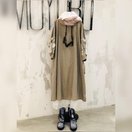 MOYURU<br /> <br /> 2021 Spring & Summer  Collection<br /> <br /> Cotton Dress ¥24000