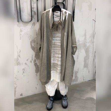 MOYURU<br /> <br /> 2021 Summer  Collection<br /> <br /> Linen Jacket  ¥48000