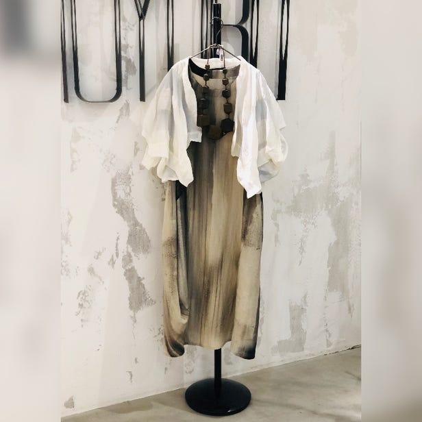MOYURU  2021 Summer Collection  Jacket ¥24000  Dress ¥59000