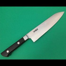 本锻造一枚钢/附刀肩牛刀/万能厨刀/安来钢白纸1号钢/18cm
