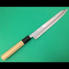 本霞/切付型/柳刃厨刀/VG10/24cm