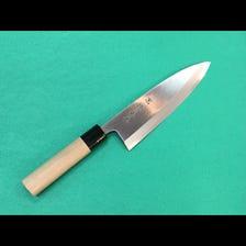 Deba knife Blue No.2 steel 18cm