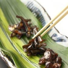 佃煮 傳承古老秘傳醬汁延伸而出的美味。