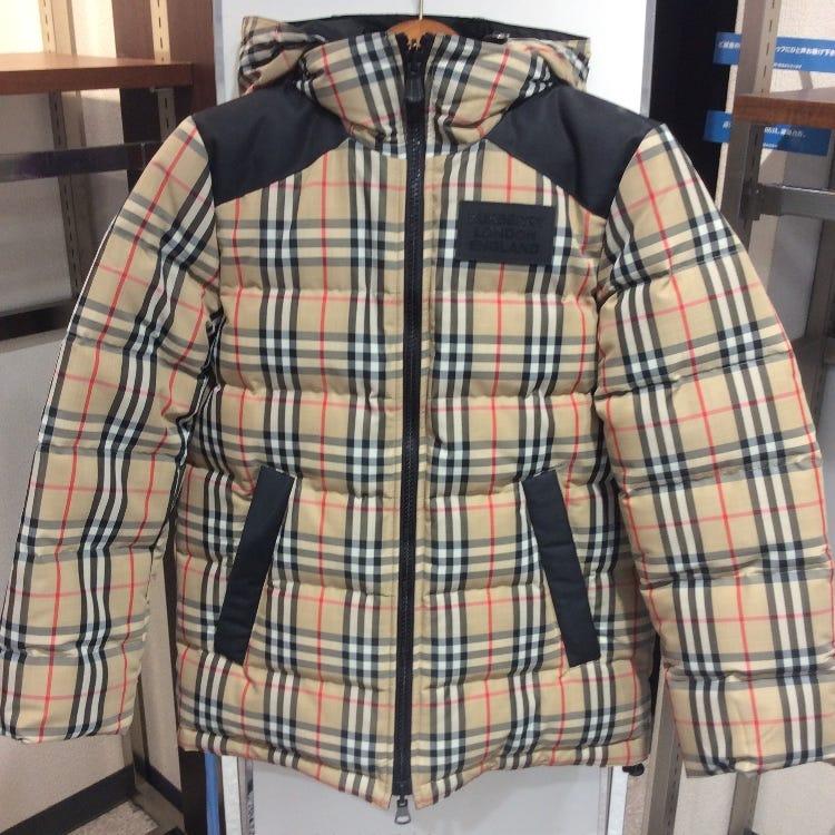 BURBERRY (Down jacket・ladies)