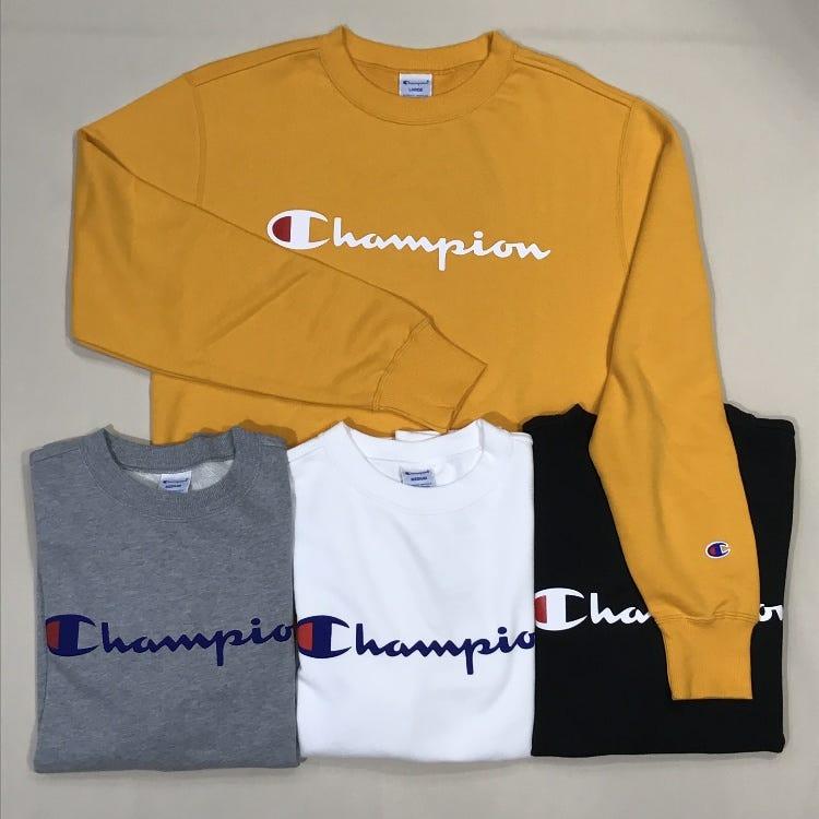 Champion<br /> SWEATSHIRTS<br /> SIZE M~LL