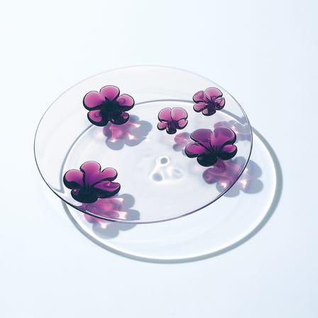 茶花玻璃盘(Camellia Plate)