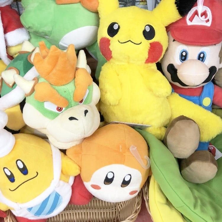 harajuku souvenir_nintendo pokemon mario