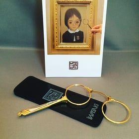 博物館眼鏡 可用於美術館和美容院內的多用途眼鏡。