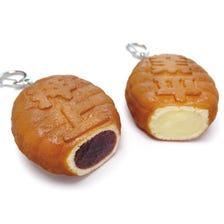 Key Ring Doll Shaped Pancake (Ningyo-Yaki) (Oshiage/Narihira)