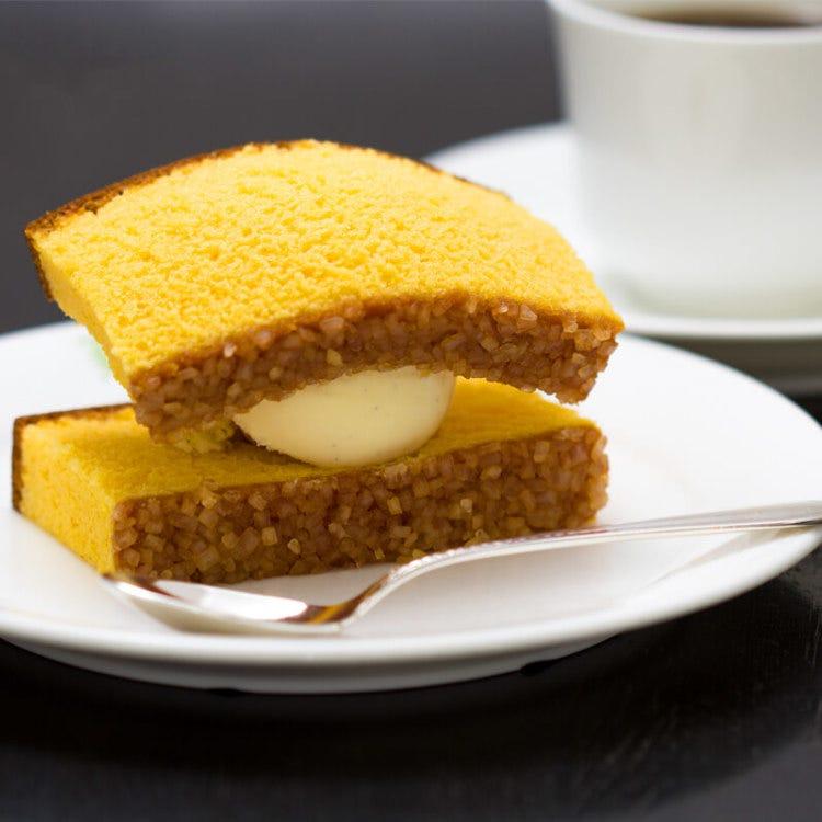 Castilla Ice Cream (sponge cake ice cream)