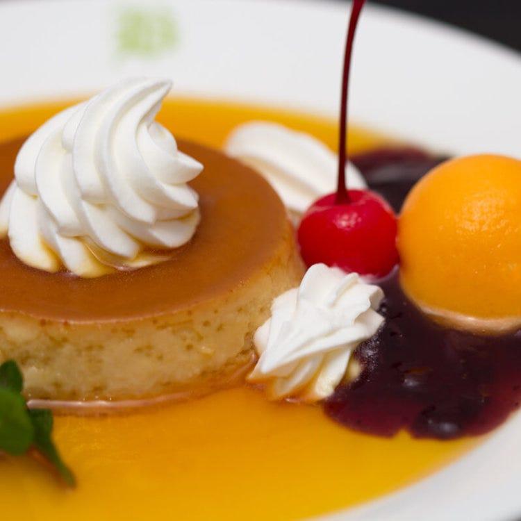 Castilla Pudding (sponge cake pudding)