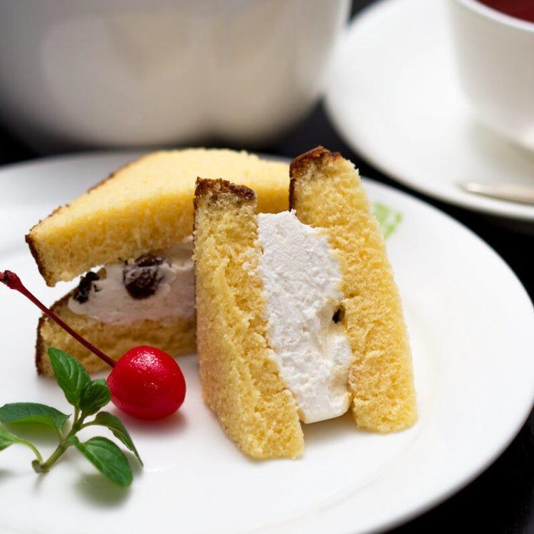 長崎蛋糕朗姆酒葡萄乾奶油