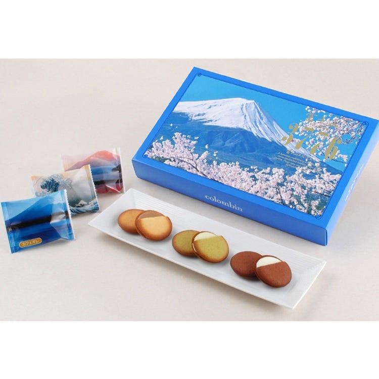 Fuji-san Merveille cookies