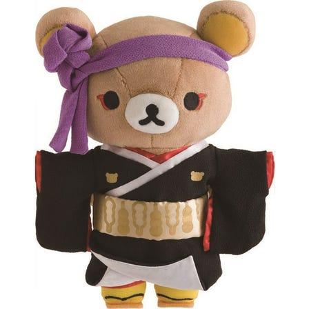 Rilakkuma Kabuki Soft Toy (Sukeroku)<br /> ©San-X ©SHOCHIKU